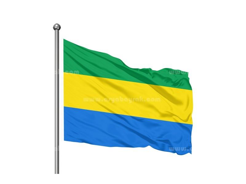 Gabon Bayrağı