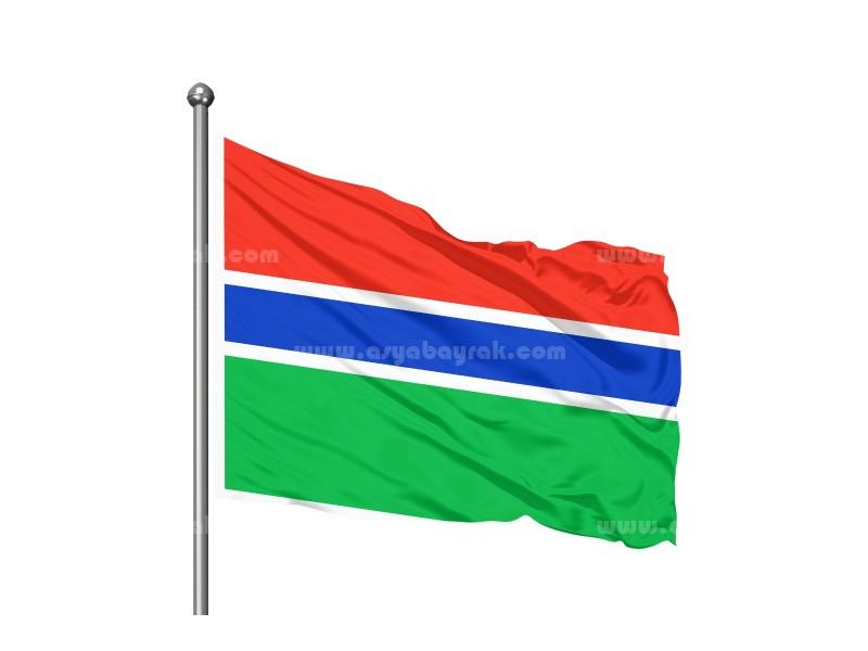 Gambiya Bayrağı