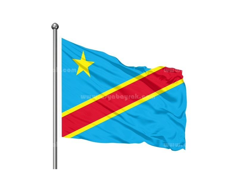 Congo Demokratik Cumhuriyeti Bayrağı