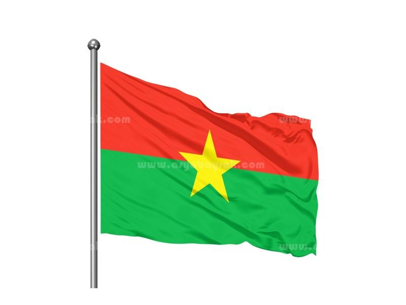 Burkino Faso Bayrağı