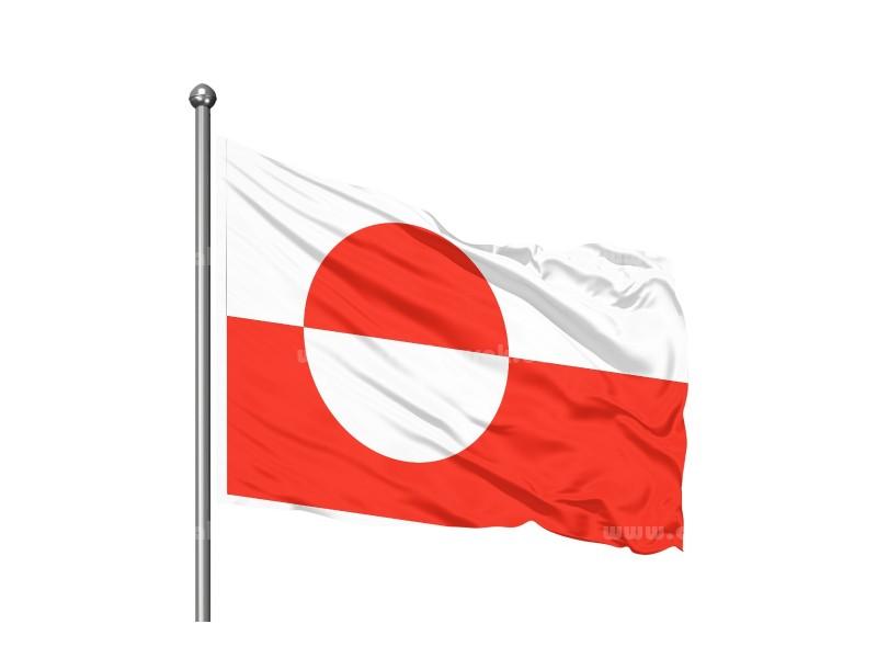 Greenland Bayrağı