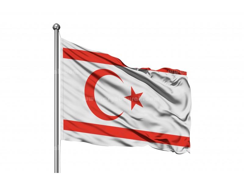 Kuzey Kıbrıs Türk Cumhuriyeti Bayrağı