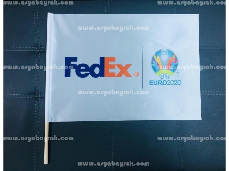 Fedex Hand Waving Flags