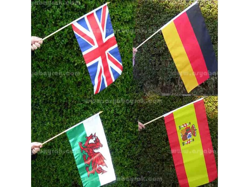 Ülke Elde Sallama Bayrağı