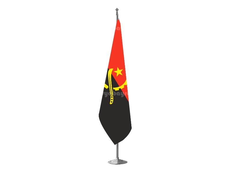 Angola Makam Bayrağı