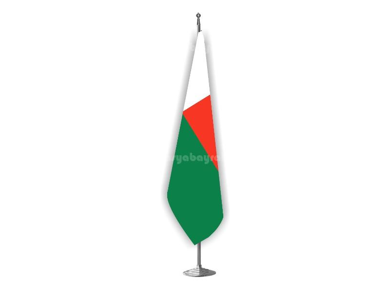 Madagaskar Makam Bayrağı