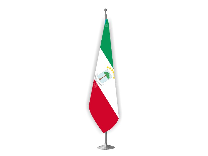 Ekvator Gine Makam Bayrağı