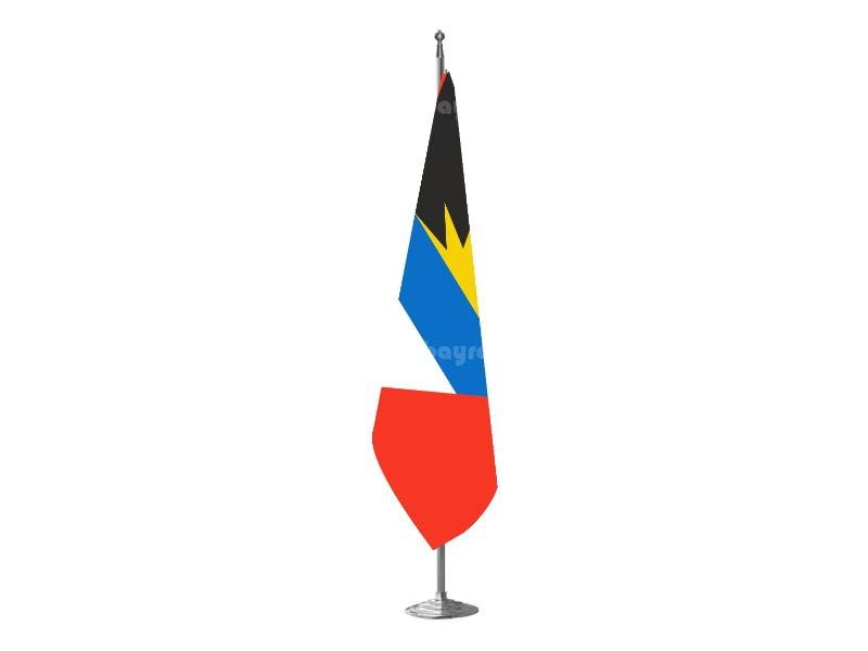 Antigua & Barbedu Makam Bayrağı
