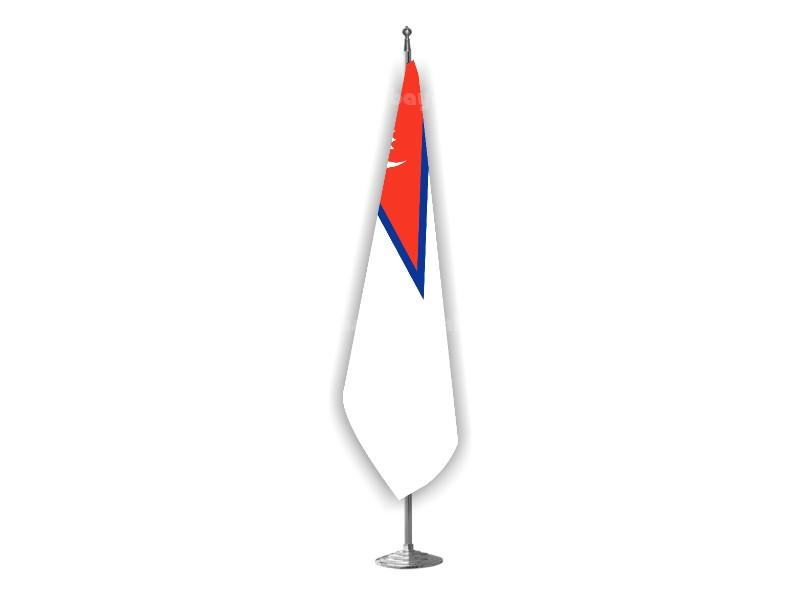 Nepal Makam Bayrağı