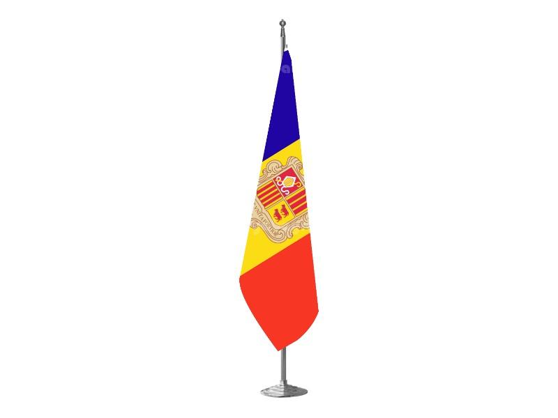 Andorra Makam Bayrağı