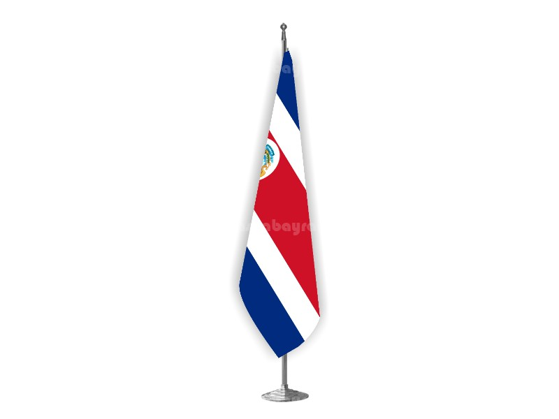 Costa Rica Makam Bayrağı