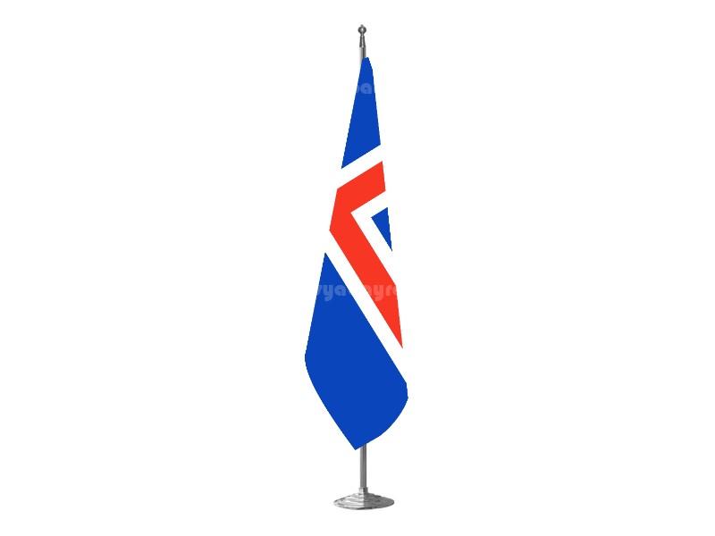 İzlanda Makam Bayrağı