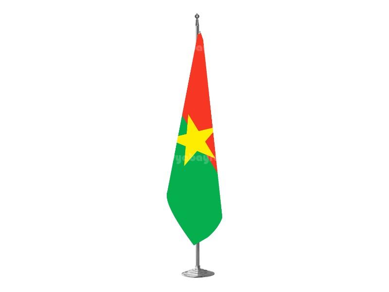 Burkino Fasso Makam Bayrağı