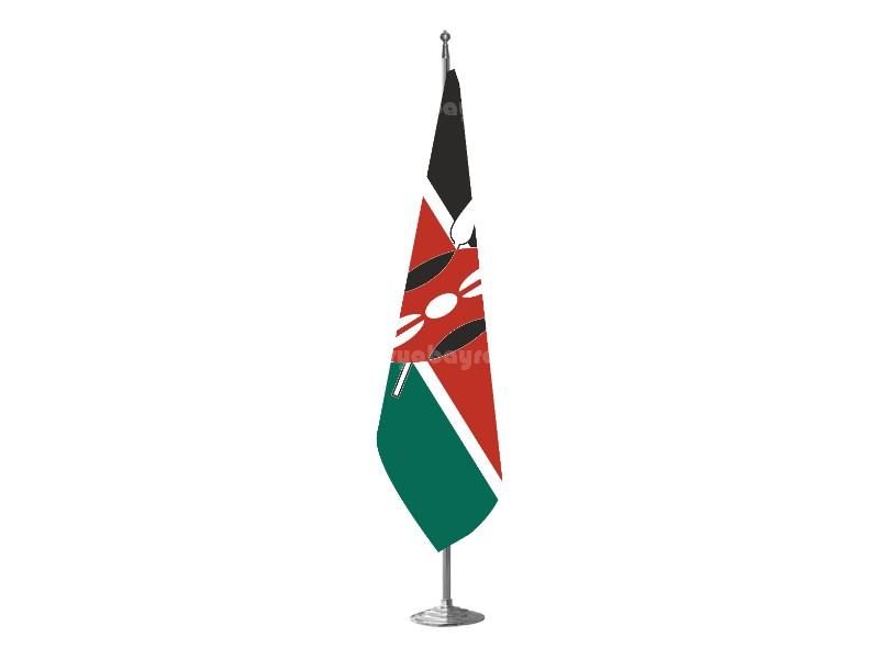 Kenya Makam Bayrağı