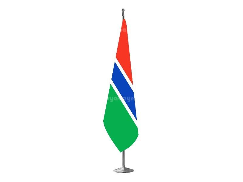 Gambiya Makam Bayrağı