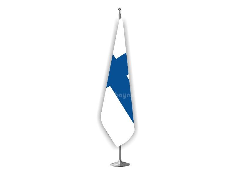 Finlandiya Makam Bayrağı