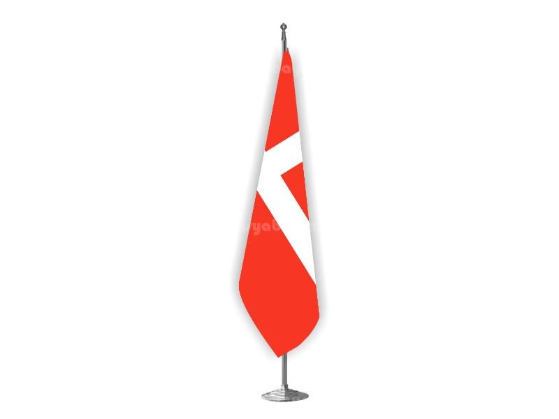 Danimarka Makam Bayrağı