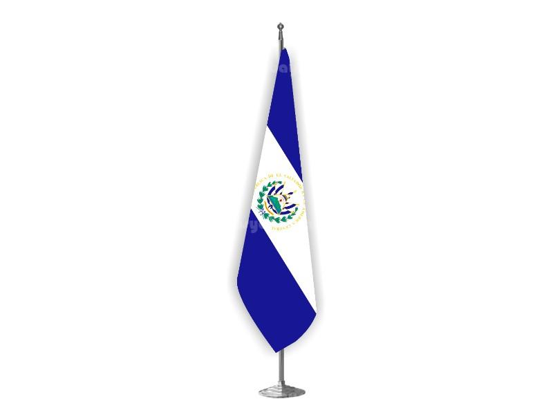 El Salvador Makam Bayrağı