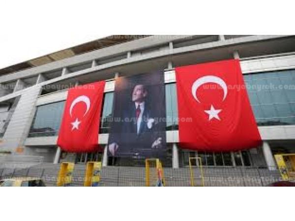 Büyük Ebatta Türk Bayrağı