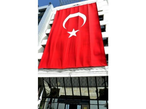 Büyük Boy Türk Bayrağı