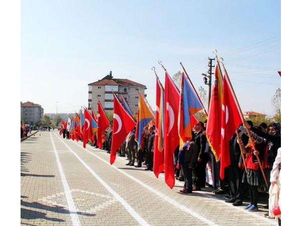 Okullara Özel Tören Bayrakları