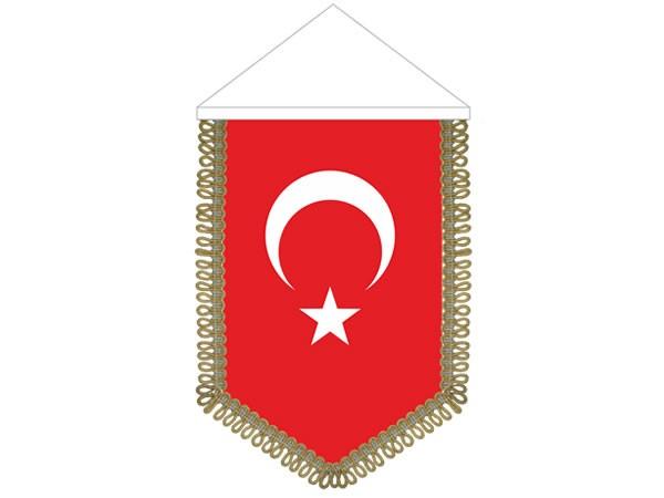 16x24 Beşgen Türk Takdim Flama