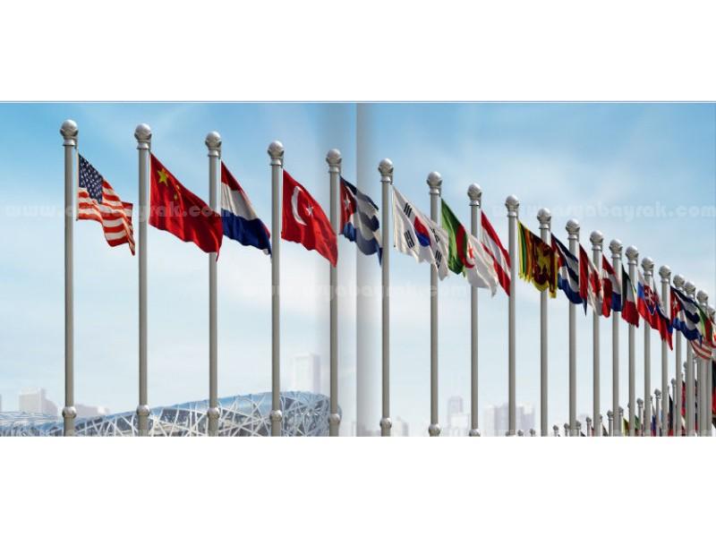 Gönder Ülke Bayrakları