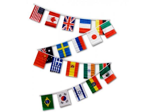 Süsleme Ülke Bayrakları